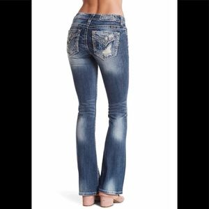 🔥SALE- Miss Me boot cut jeans/Brand New With Tags